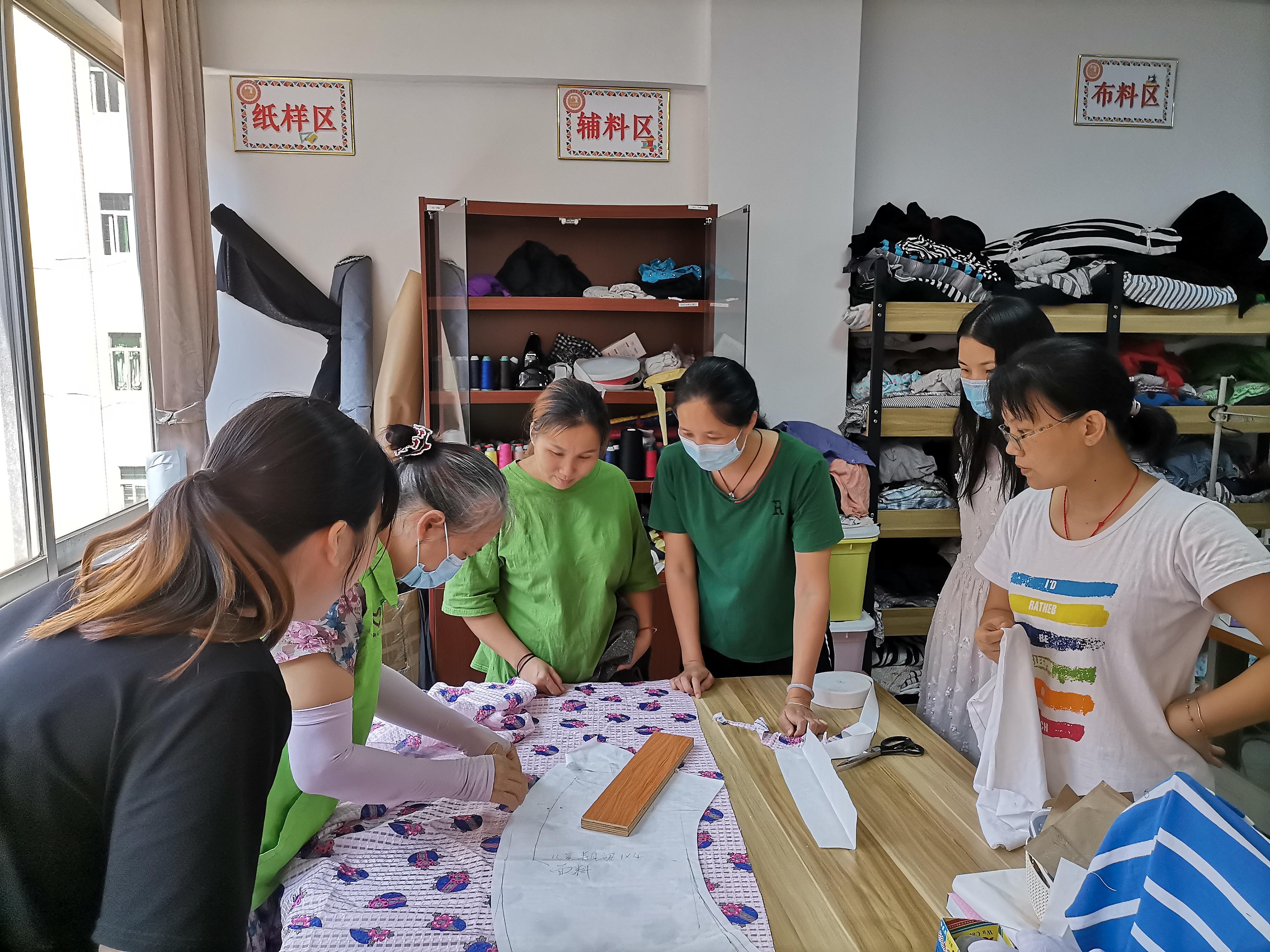 【创业女红】之半身裙缝纫创作小组