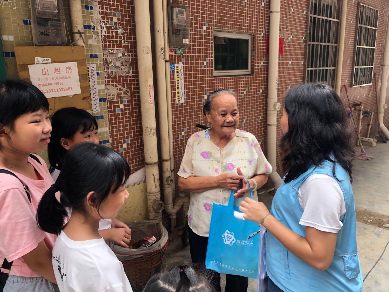 """【志愿者】""""温暖中秋 幸福国庆"""" 亲子志愿队温暖送到家"""