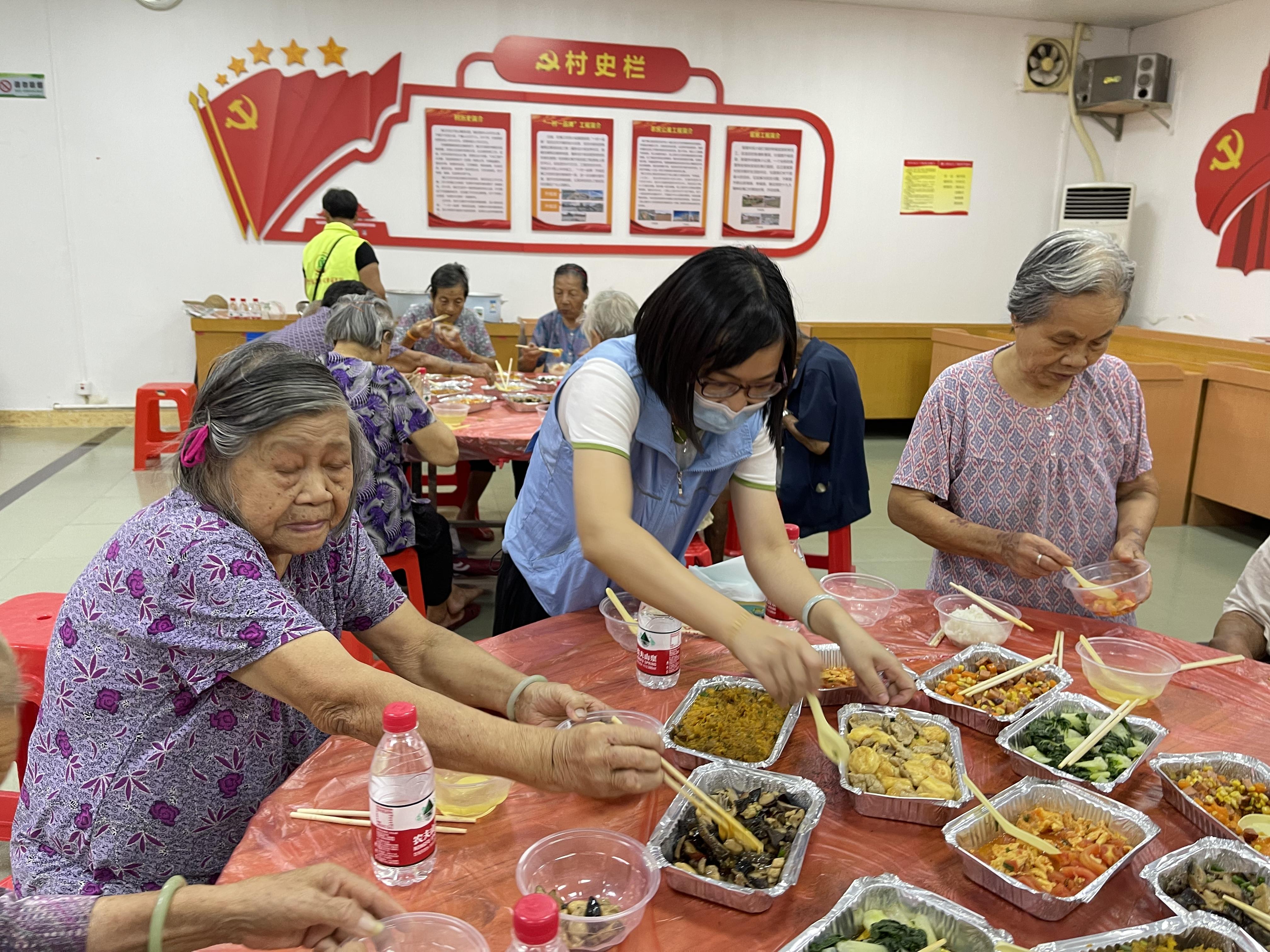 """【一餐住家饭】""""夏日送清凉""""高龄长者社区餐桌活动"""