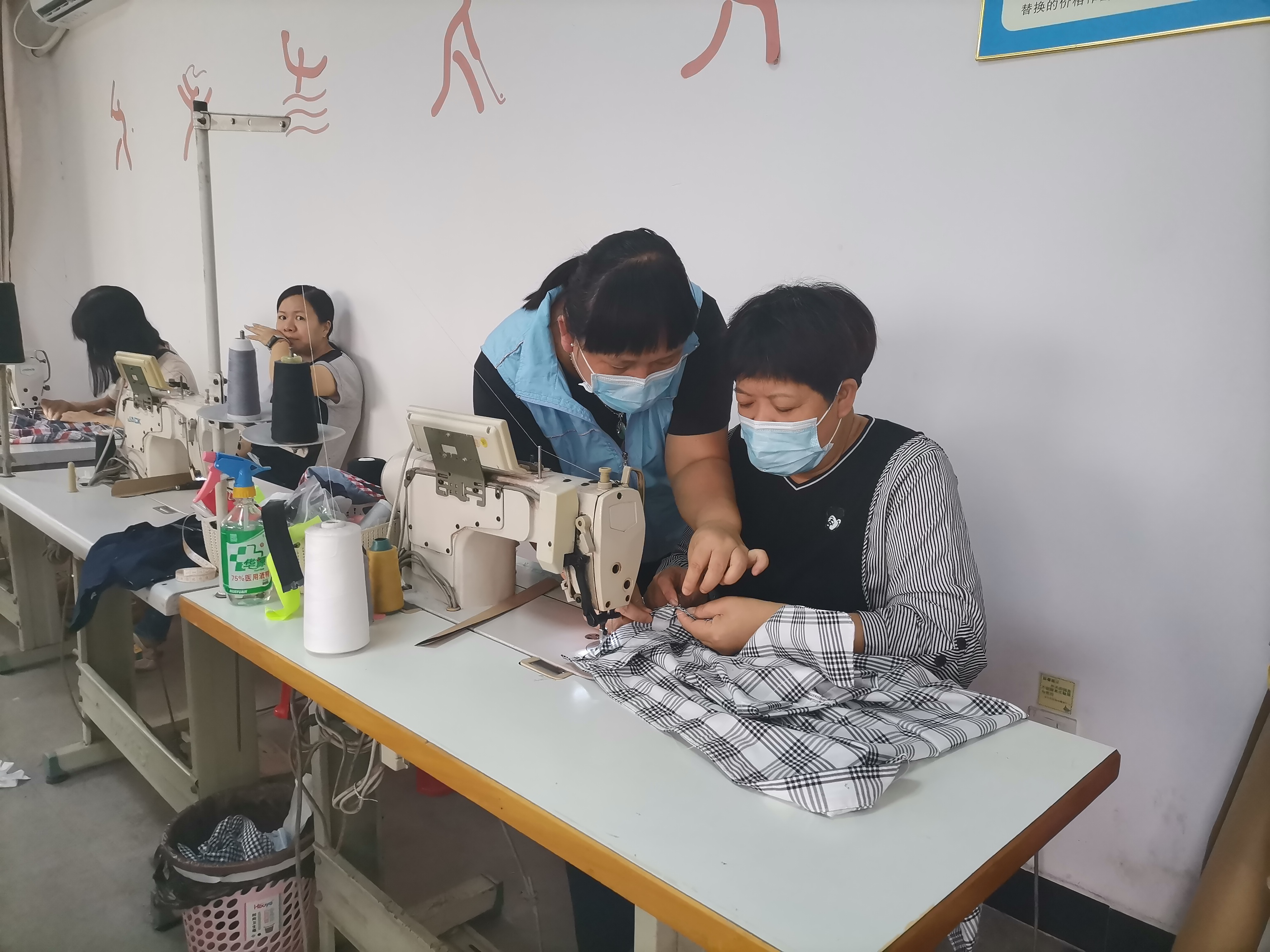 虎门慈善会第二届创投项目 【创业女红】之衬衫产品研发小组