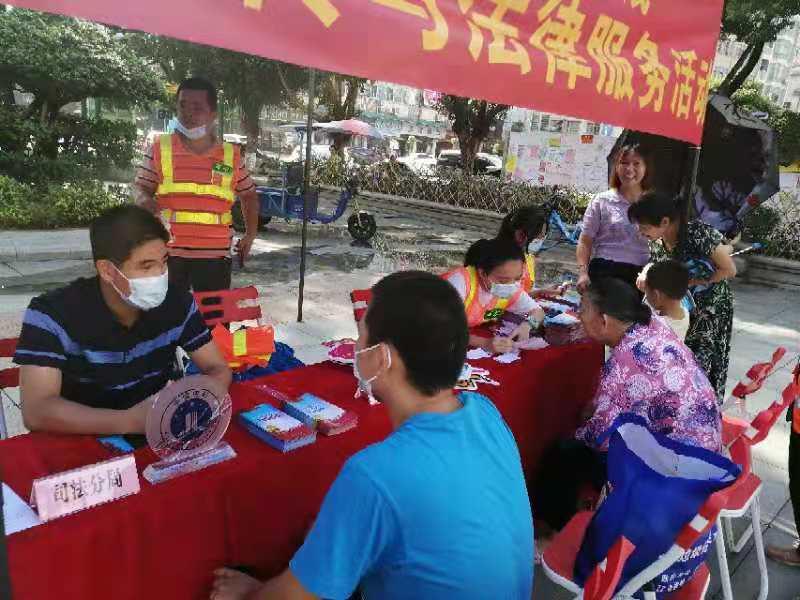 虎门镇集中开展出租场所法治宣传与法律服务活动
